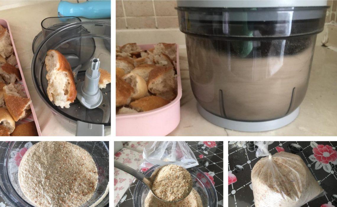 Köfte İçin Ekmek İçi Yapımı