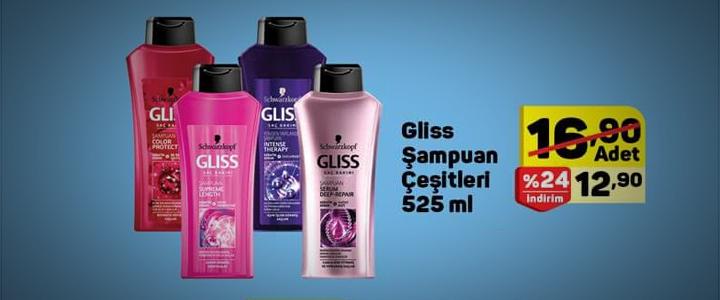 Gliss Şampuan
